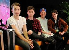 The boys backstage at the #KEY103LIVE festival in Manchester minutes ago