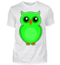 knuffiges Eulen Shirt T-Shirt Yoshi, Fictional Characters, Back Stitch, Cotton, Fantasy Characters