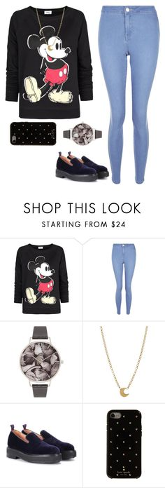 """Untitled #1628"" by blossomfade ❤ liked on Polyvore featuring MANGO, New Look, Olivia Burton, Dogeared, Eytys and Kate Spade"