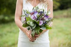 bohemian bridal bouquets purple - Google Search