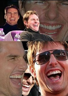 Your Reaction: Funny Tom Cruise Tom Cruise, Funny Images, Funny Photos, Tom Meme, My Ex Gf, Las Vegas, Laughing Face, Funny Pictures Can't Stop Laughing, Face Pictures