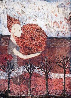 The present,Mirka Johansson, graphic