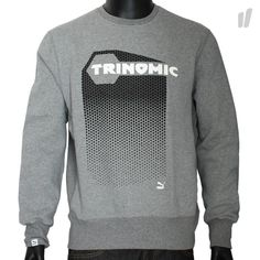 Puma Edition Trinomic Graphic Crewneck - http://www.overkillshop.com/de/product_info/info/9200/