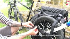 How to trail a childs bike Childs Bike, Trail, Bicycle, Children, Vehicles, Bicycles, Molle Pouches, Young Children, Bike