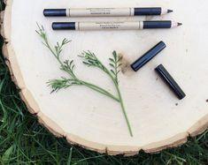 Pencil Eye Liner • Botanical Blend • Midnight Black & Cacao Brown • Earth Mineral Cosmetics • Vegan + Organic + Gluten Free + Cruelty Free