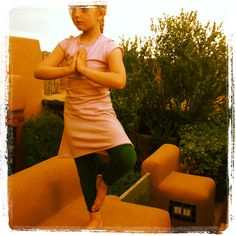 Mountain Pose, easy to hold in comfy and organic Teres Kids clothes! ~ www.TeresKids.com