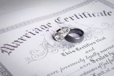 Learn the difference between a marriage license and a marriage certificate so you can be prepared for your wedding. Marriage Records, Marriage License, Marriage Law, Genealogy Search, Family Genealogy, Genealogy Websites, Family Research, Marriage Certificate, Ancestry