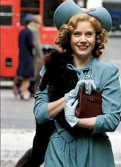 Miss Pettigrew (who lives for a day) looks just like my grandma on her wedding day!