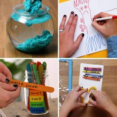 Are you ever concerned that your kids are staring at screens too much? This video has some fun ideas. Share your favorite family-friendly activities that don't involve the TV, tablets or phones in the comments below! Fun Crafts, Diy And Crafts, Crafts For Kids, R Colors, Boring Day, Raising Girls, Kids Health, Business For Kids, Have Some Fun