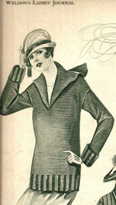 Free Knitting and Crochet Patterns - Vintage Knitted Couture l Vintage Knitting…