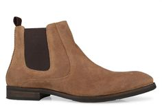 Shoe Connection - Peter James - Phoenix golden slip-on leather ankle boot. $189.99 https://www.shoeconnection.co.nz/mens/boots/slip-on-boots/peter-james-phoenix-slip-on-ankle-boot?c=Golden