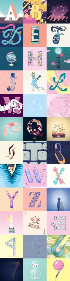36 days of type Laura Mariscal