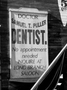 Dentist...at least that's where you'll find our front desk! Lol