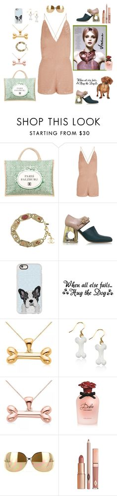 """""""Sooo Munich- the style of my hometown. Dog days"""" by juliabachmann ❤ liked on Polyvore featuring Chanel, Valentino, Versace, Marni, Casetify, Allurez, Dolce&Gabbana, Victoria Beckham and Dolce Vita"""