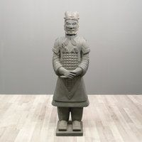 Incroyable Chinese Warrior Statue General 170 Cm