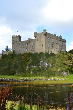 Dunvegan Castle home to the clan MacLeod. The Clan MacLeod can trace itself to 1200 and Leod Olafson; MacLeod translated means Family of the Son of Leod. Leod's father was Olaf the Black, Norse King of the Isle of Man.