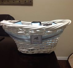 basket for goodies Hamper, Brittany, Shower Ideas, Goodies, Basket, Baby Shower, Organization, Home Decor, Sweet Like Candy