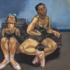 Dancing Ostriches (triptych) - Paula Rego They are quite the opposite of real ballet dances which shows they don't conform to the ideal dancer Paula Rego Art, Figure Painting, Painting & Drawing, Mario Cesariny, Nadir Afonso, Saatchi Gallery, Galleries In London, Feminist Art, Feminist Quotes
