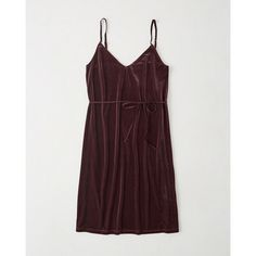 Womens Velvet Midi Slip Dress | Womens Dresses & Jumpsuits |... (€11) ❤ liked on Polyvore featuring dresses, velvet midi dress, midi dress, midi day dresses, calf length dresses and velvet slip dresses