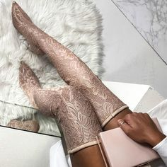 Would you wear? https://www.myshoebazar.com/shoes/lace-thigh-high-boots/