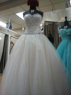 Love these ball gowns!