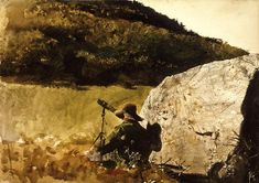 Andrew Wyeth: Alone | Orwellwasright's Weblog