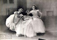 """The Baby Ballerinas"" of Ballet Russe - Tatiana Riabourchinska, Tamara Toumanova, and Irina Baronova"