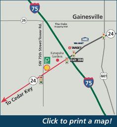 Cedar Key Florida Map.Click To Print A Pdf Map To Cedar Key Cedar Key Florida
