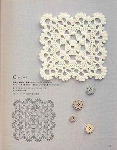 鉤針单元花樣編織 (1) - 紫苏 - 紫苏的博客