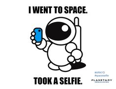 Make it so by supporting the first publicly accessible space telescope! Take amazing photos of space or have your photo displayed above the Earth. #ARKYD #spaceselfie