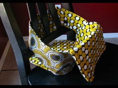 Anywhere Chair: Fabric Highchair Tutorial - YouTube