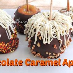 Chocolate Apples Recipe - Southern Plate & ZipList