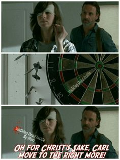 The Walking Dead, Memes, Carl Grimes, Chandler Riggs, Rick Grimes, Andrew Lincoln