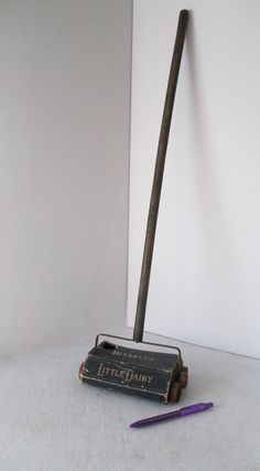 Bissell Little Daisy Carpet Sweeper, Vintage Working Toy Sweeper, Doll House…