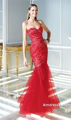 http://www.ikmdresses.com/2014-Sweetheart-Prom-Dress-Mermaid-Floor-Length-Red-With-Lace-p85281