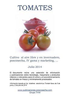 Serie INFO´s: Tomates; publicado en la Biblioteca de Horticultura de SPE3