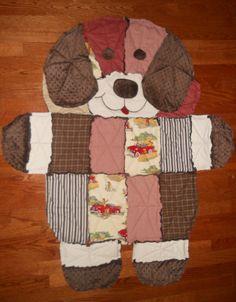 Puppy Rag Quilt