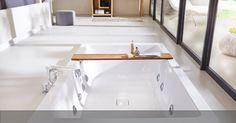 Der neue Conopool von Kaldewei bietet anspruchsvolles Design und Funktionalität.