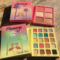 Wow how beautiful are these summer face and eyeshadow palettes! This makeup is just perfect for the summer goals and inspiration to create all these nice summer looks! So much fun!