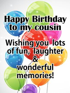 Birthday Quotes : Send your warmest birthday wishes to a wonderful cousin with this beautiful birthday card. A candle-lit cak. - The Love Quotes Cousin Birthday Quotes, Happy Birthday Niece, Birthday Reminder, Birthday Quotes For Him, Cousin Quotes, Happy Birthday Funny, Happy Birthday Images, Funny Birthday Cards, Birthday Memes