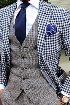 Wow mens edgy fashion that is amazing. Wow mens edgy fashion that is amazing. Sharp Dressed Man, Well Dressed Men, Designer Suits For Men, African Men Fashion, Mens Fashion Suits, Gentleman Style, Stylish Men, Look Cool, Men Dress