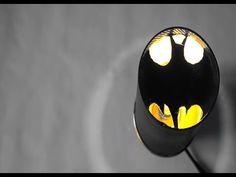 DIY 배트맨 수면 램프!_BATMAN LAMP FOR SLEEP AN UPCYCLE_LE BATMAN LAMP EN RECYCLAGE