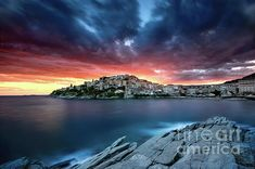 Fire In The Sky by Elias Pentikis Poster Prints, Framed Prints, Canvas Prints, Beyond The Horizon, Overseas Travel, Beautiful Landscapes, Fine Art Photography, Fine Art America, Artworks