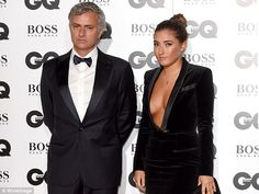Mourinho and daughter Matilde attend the GQ Men Of The Year Awards in London in 2015