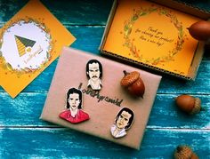 Nick Cave Wooden Brooches Music Nick Cave and the Bad Seeds Australia by LovePyramid on Etsy