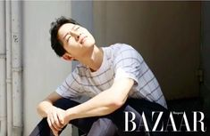 5 Sexy photos of Descendants of the Sun's Song Joong Ki in Harper's Bazaar