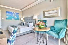 TRAVELLER ROOM Elegant and functional, our most affordable option. Choose mountain or sea views. Bed And Breakfast, Mountain, Ocean, Rooms, Couch, Elegant, Luxury, Furniture, Home Decor