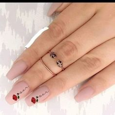 Learn how to create Valentines Day Nail Art Designs & Ideas for 2020 Rose Nails, Flower Nails, Pink Nails, Glitter Nails, My Nails, Pink Glitter, Summer Acrylic Nails, Best Acrylic Nails, Classy Nails