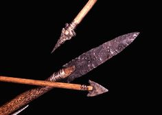 http://www.archaeology.ncdcr.gov/uwharrie/Spear_Arrows.gif