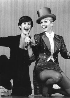 Goodbye to two amazing icons, Carrie Fisher and Debbie Reynolds. Your talent, your humour, your light will be missed. Rest in peace now angels.